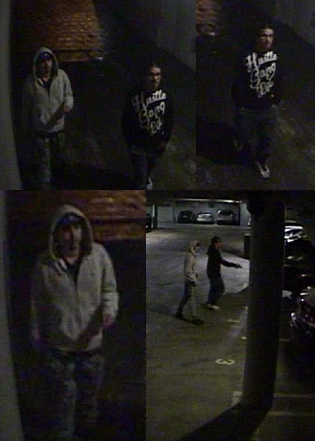 Photo of two suspects