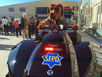 SFPD National Night Out with McGruff