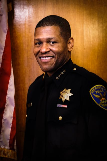 Photo of Chief Scott in SFPD Uniform