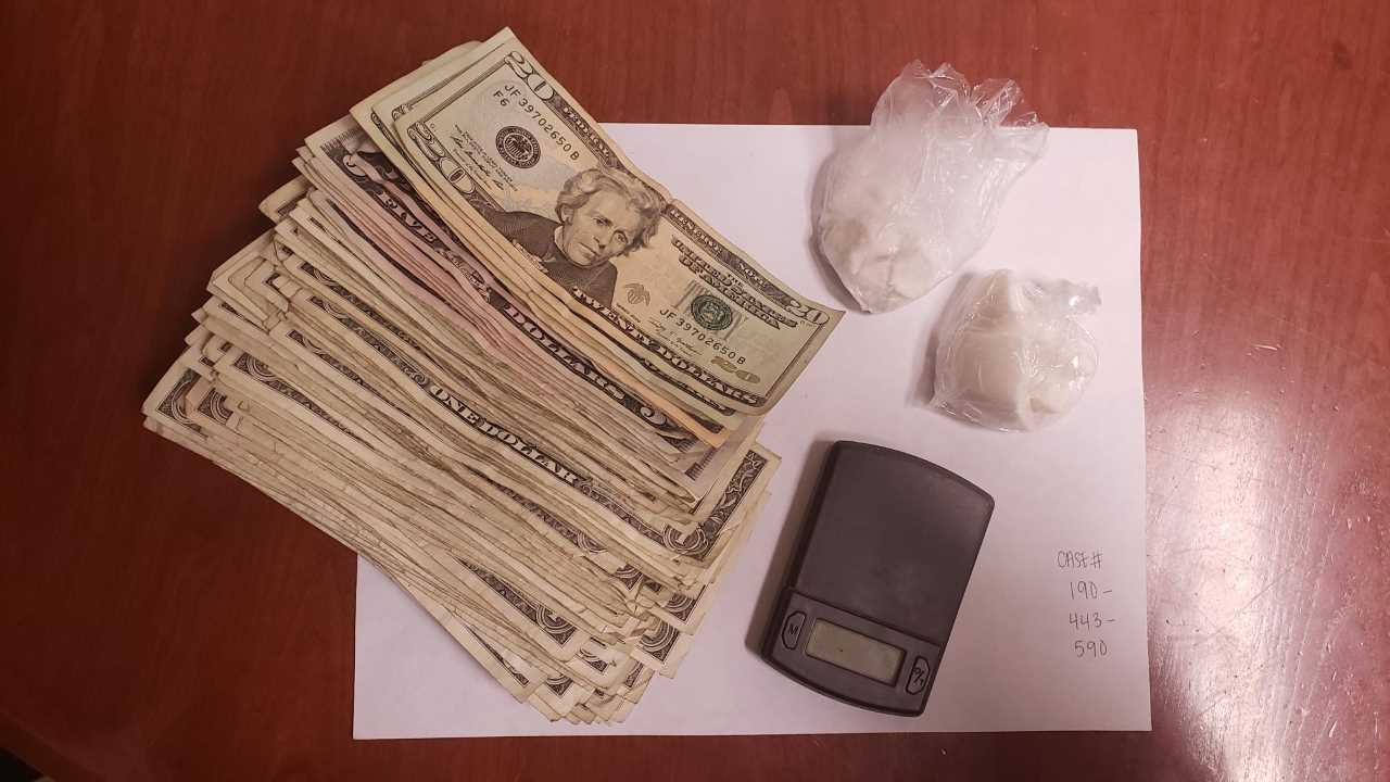 Photo of narcotics seized in Tenderloin operation