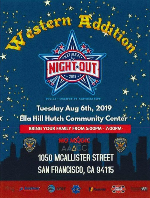 Northern Station 2019 National Night Out flyer
