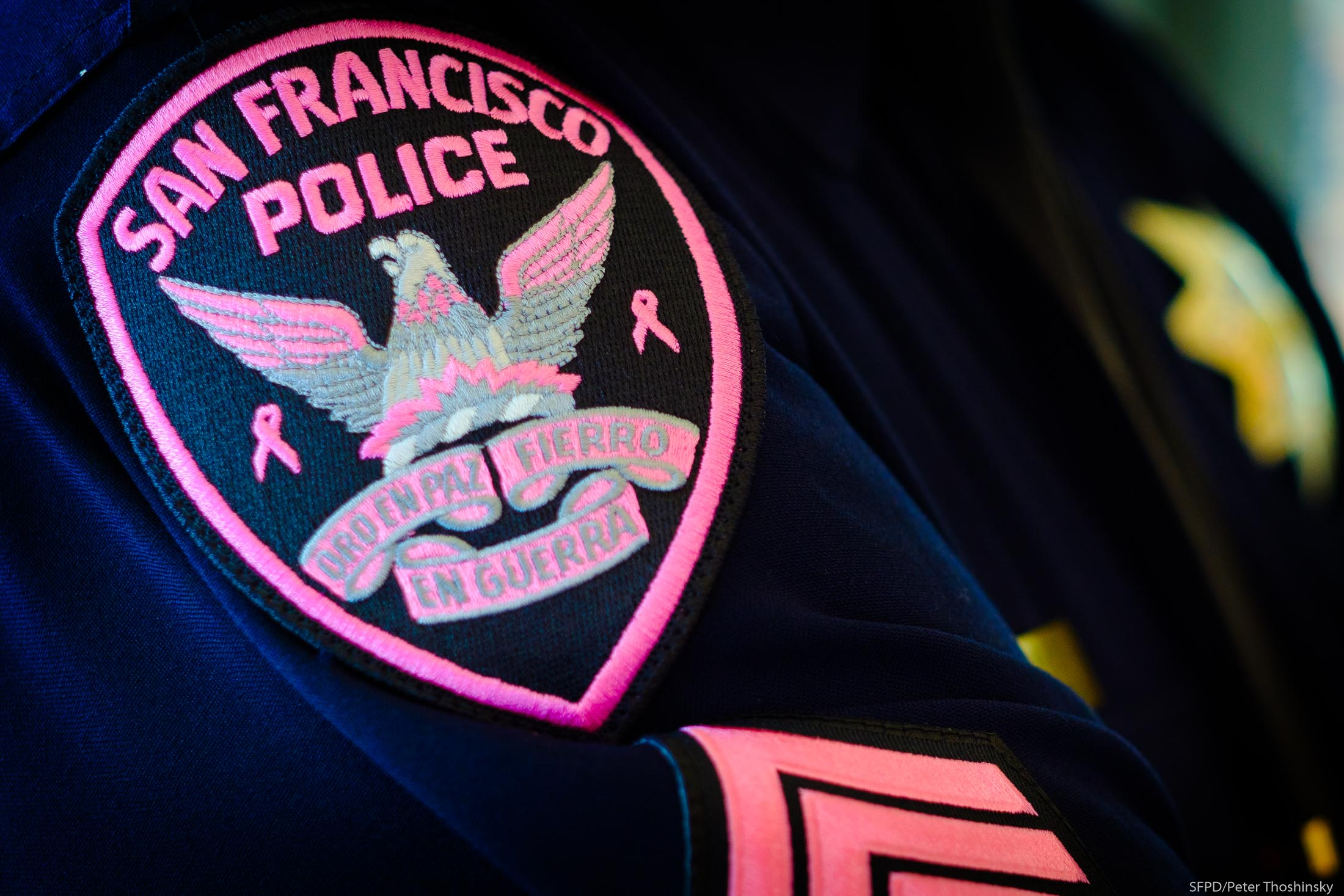 Picture of SFPD Pink Patch