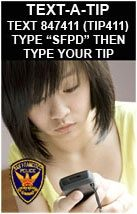 Tip Lines | San Francisco Police Department