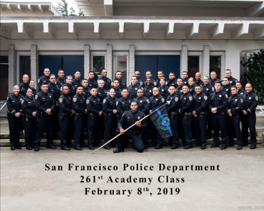 SFPD Academy's 261st Basic Class Graduates 19-015 | San