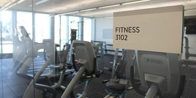 San Francisco Police Department Headquarters Fitness Room