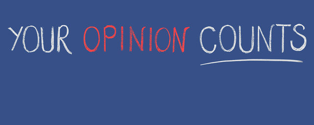 Your Opinion Counts