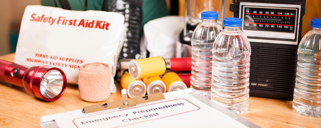 Disaster preparedness and emergency safety first aid kit