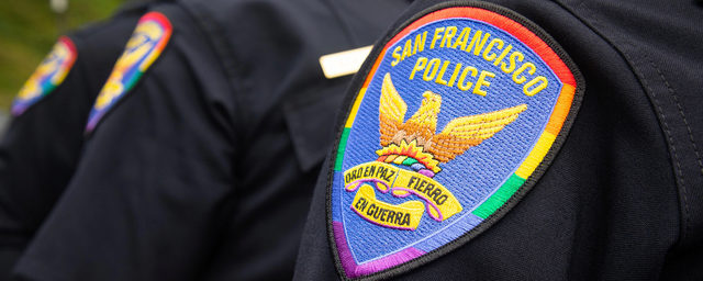 SFPD Rainbow Pride Patch