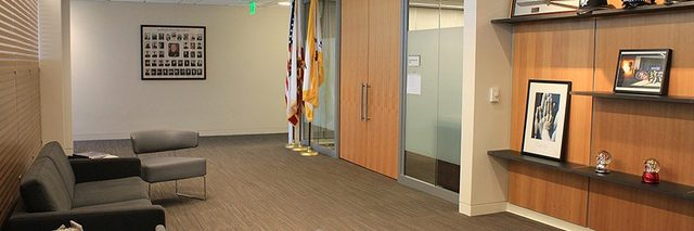 Police Headquarters Chief's Office Reception Area
